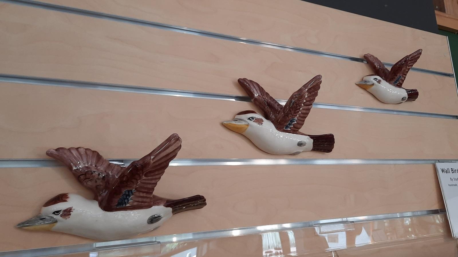 Kookaburra wall hangings